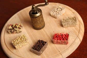 Pimienta roja y otras especias
