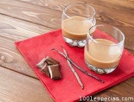 Vainilla chocolate licor