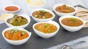 diferentes curries