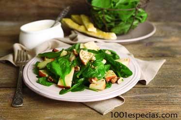 ensalada mostaza