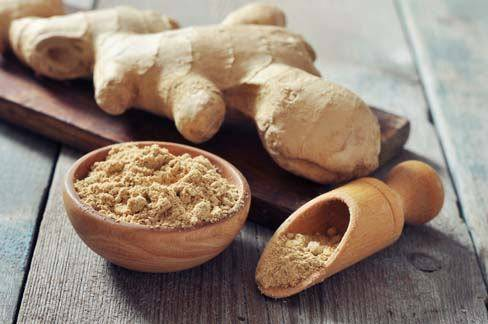 ground ginger root