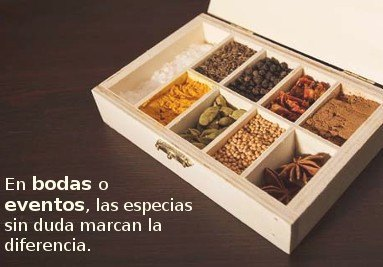 gift box- spices