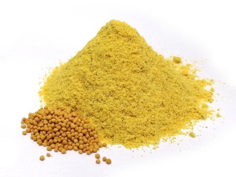 Mostaza amarilla molida