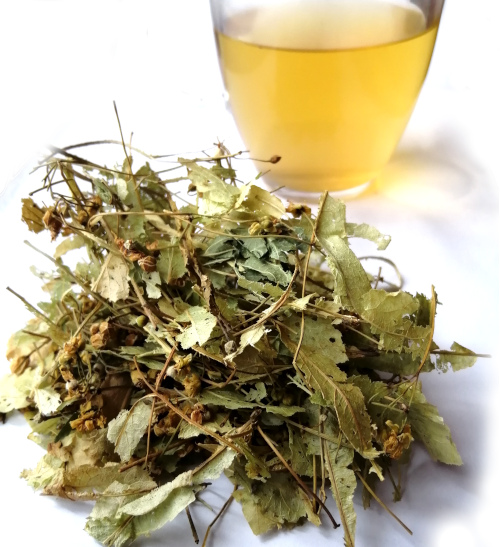 Tila, flower leaf, infusion